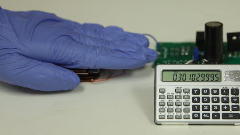 A smart glove with integrated triboelectric nanogenerator