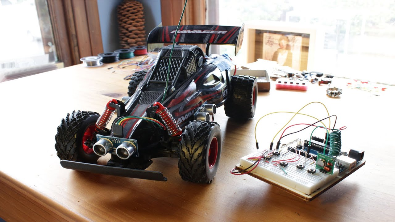 Creating a self-driving toy car