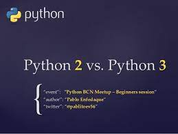 Differences between Python 2 and Python 3